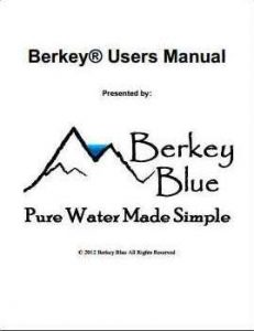 Berkey Manual